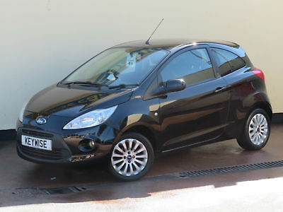 Ford Ka 1.2 (S/s) Zetec 2011 61 With Only 27,900 Miles & £30 Road Tax