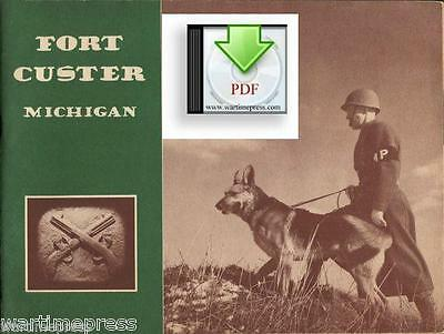 CD File Fort Custer, Michigan, Home of Military Police, MP PDF