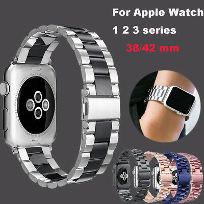 Stainless Steel Replacement Band Strap For Apple Watch Series 3 2 1 38mm/42mm