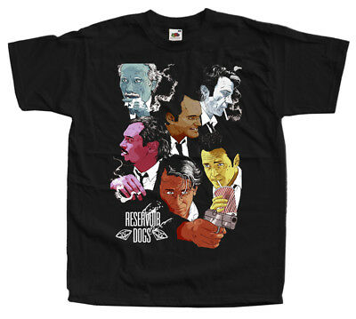 Reservoir Dogs, movie poster, Quentin Tarantino T-SHIRT BLACK all sizes S-5XL