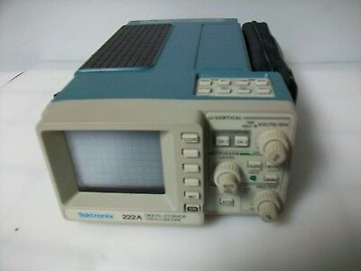 Tektronix  222A Diital Storage Oscilliscope  With Carry Casescope