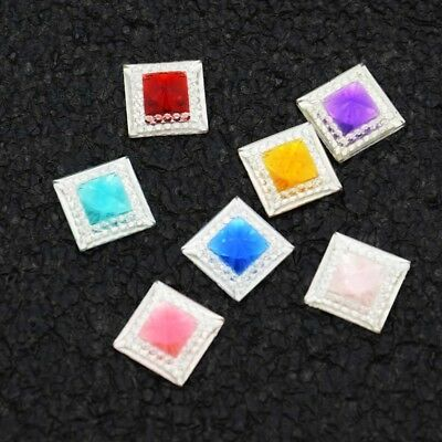 NEW 40PCS 12MM Resin Princess flatback Appliques For phone/wedding/craft DIY