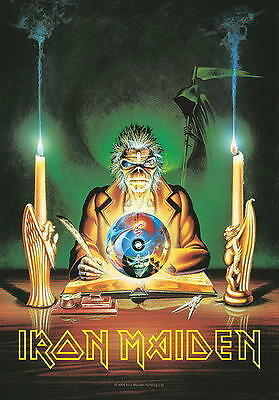 """Iron Maiden Flagge / Fahne """"7Th Son Of A Seventh Son"""" Poster Flag Posterflagge"""