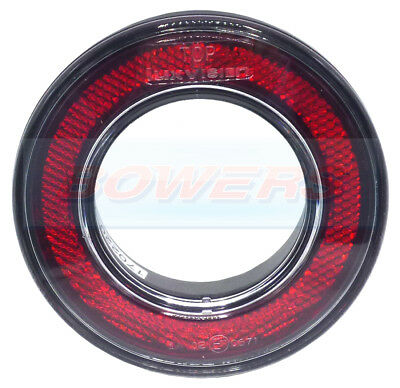 98mm ROUND RED REAR OUTER RING REFLECTOR FOR 55mm COMBINABLE REAR LIGHTS KIT CAR