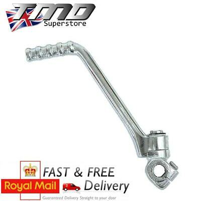 13mm KTM Style Chrome Pit Dirt Bike Kickstart Lever 50cc 110cc 125cc Pitbike