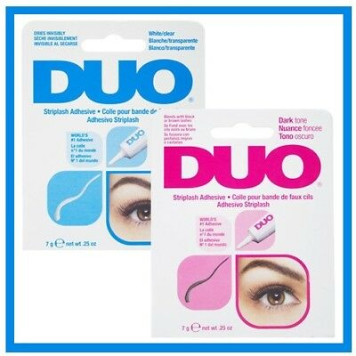 d34b76a7e11 BRAND NEW DUO False Eyelash Lash Glue Adhesive 9g, Dark or Clear,  Waterproof UK