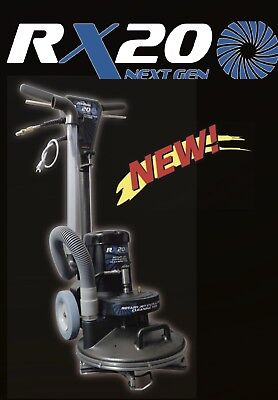 NEW STYLE Hydramaster RX-20 Rotary Extractor NEXTGEN. Carpet Cleaning