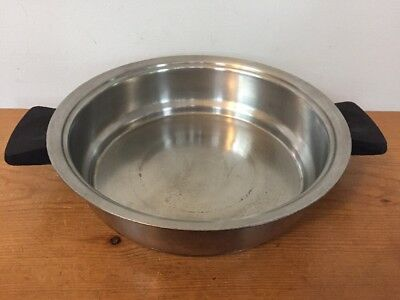 """Vintage Rena Ware 3 Ply Stainless Steel Cookware Sauce Pan Pot 7.25"""" 7 1/4 Inch"""