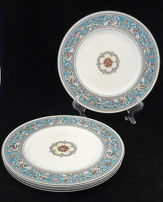 Wedgwood - Turquoise Florentine - W2714 - 4 Dinner Plates