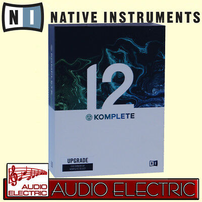Native Instruments NI Komplete 12 Upgrade von Select, Kontakt, Maschine 2 etc.