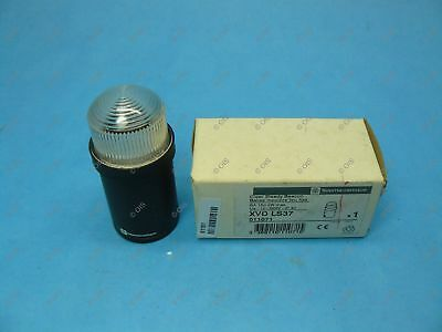 Telemecanique XVDLS37 Stack Light Beacon 45mm Steady Clear 12-230 VAC New