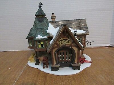 Dept. 56 Dickens Village Series 2001 Bayly's Blacksmith #56.58495
