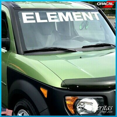 Honda Element Windshield Sticker Banner Decal Vinyl Window Graphic custom