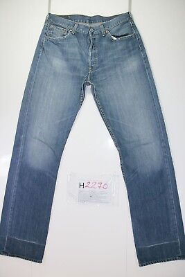 Levis 501 Cod. H2270 Tg48 W34 L36 jeans gebraucht hohe Taille Vintage Streetwear