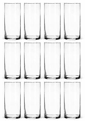 Cylinder Glass Vase Wholesale H 16 Opening Diameter 4 12 Pcs