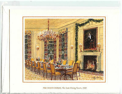 *BRAND NEW* 1998 White House OFFICIAL Christmas Card President BILL CLINTON