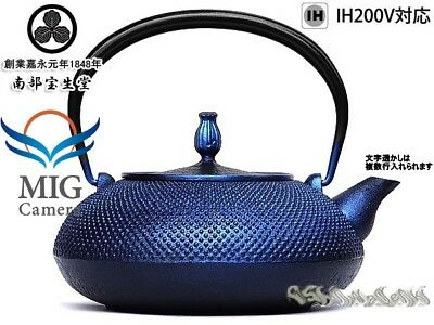 Japanese Iron TEA KETTLE Teapot Tetsubin,Nanbuhoshodo made from Japan