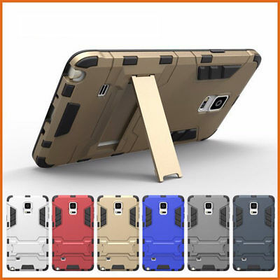 2 in 1 TPU+PC Double Couche Hybride Stand Armure Housse Coque Pour HUAWEI iPhone