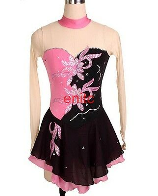 Girls Women Ice Skating Dress Competition Ice Figure Skating Dress New 9 Colors