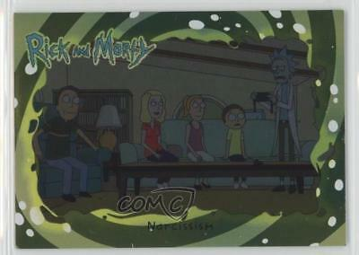 2018 Cryptozoic Rick and Morty Season 1 Foil #29 Narcissism Non-Sports Card 2o7