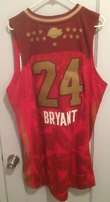 502a006eb Kobe Bryant 2011 NBA All Star Game Jersey Men L Authentic Adidas Sewn Mamba  RARE