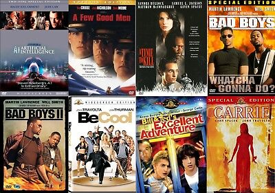 DVDs ** Good Condition ** $1.99 Sale ** Shipping Discounts **
