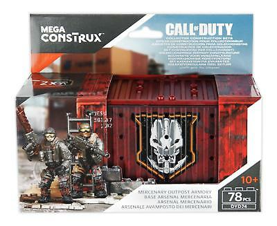 Mega Bloks Collectors Call of Duty Mercenary Outpost Armory