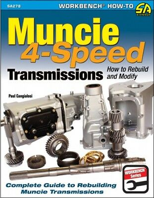 S-A Books Muncie 4 Speed Transmissions How to Rebuild and Modify Book P/N 278