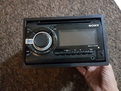 SONY WX-800UI Double Din Car Stereo CD USB Aux in MP3