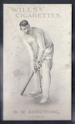 Wills-Australian/english Cricket Titled-Capstan Series Of 50-#22- Armstrong