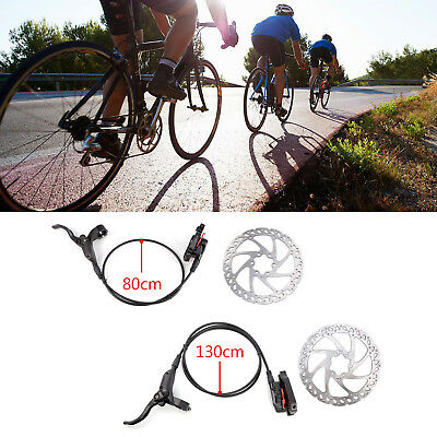 Front and Rear Hydraulic MTB Hybrid Bike IS Disc Brake Set with 160mm Rotors