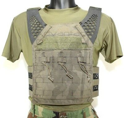 Eagle Industries Tactical (ULV) MOLLE Low Vis Armor Plate Carrier - ranger S-XL