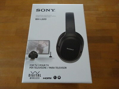 Sony 7.1Ch Digital Surround Headphone System Sealed Type 2018 Wh-L600 EMS