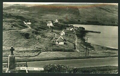 Postcard - Voe, Shetland - Real Photo