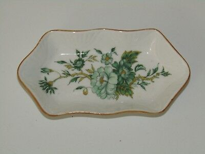 Crown Staffordshire bone china England KOWLOON small trinket pin tray dish