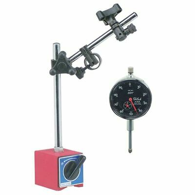 "Teclock 0-1"" BF Dial AGD Indicator w/ TTC Magnetic Base Set"