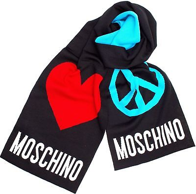 Sciarpa Moschino  REVERSE 50063  Pace & Love  NEW ARRIVALS A/I