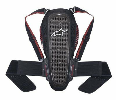 Alpinestars NUCLEON KR-1 PROTECTOR Back Plate  - 6504515 Smoke / Black / Red