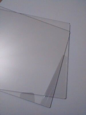 PAIR of 2mm thick PLATES A4 for CUTTING MACHINE compatible Cut'n'Boss