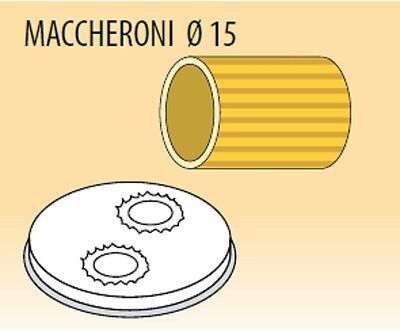 Die macaroni ø mm 15 alloy brass bronze for machine paste Fimar MPF1,5N