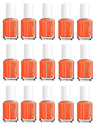 Wholesale Lot Of 15 Essie Nail Polish Roarrrrange Orange Party Favor