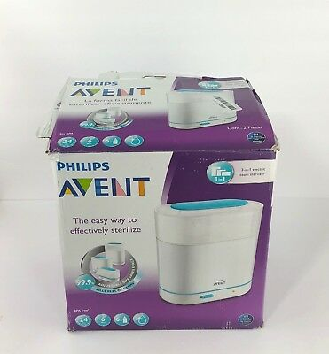 Philips Avent 3-in-1 Electric Steam Sterilizer SCF284/05