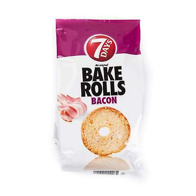 7 Days Bake Rolls Bacon - Brot Chips - 250 Gramm