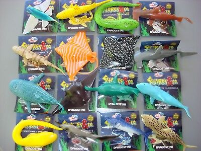 SHARKS & CO - CHOOSE SHARKS - combined P&P £2.45 - de Agostini Maxxi