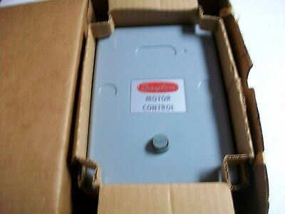 Dayton Enclosed Motor Starter Model 5X150A.  Nema Size 0