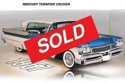 Mercury: 1957 Mercury Turnpike Cruiser 2D Coupe ******SOLD******* / 1957 MERCURY TURNPIKE CRUISER \ ********SOLD*******
