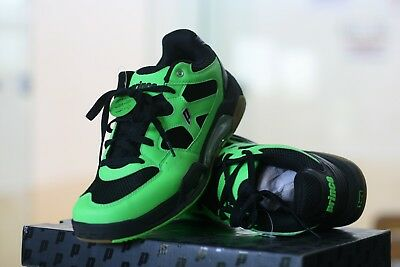 NEW PRINCE Racquetball Shoes NFS Attack Low Green with Black Color  US Mens 9.5