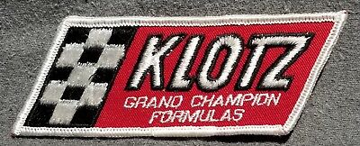 LMH Patch Badge KLOTZ Synthetic Oils Lubricants GRAND CHAMPION FORMULAS Racing