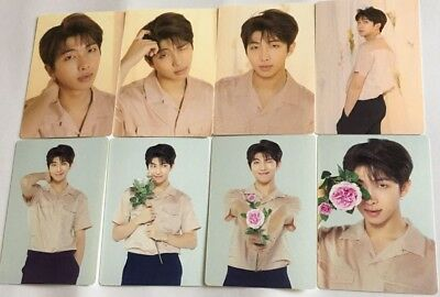 BTS RM Love Yourself World Tour Seoul MD Official Mini Photo Card set photocard
