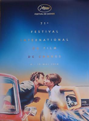 Cannes 2018 Film Festival - Car - Pierrot Le Fou - Original Large French Poster